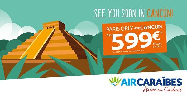 Le vol inaugural d'Air Caraïbes aura lieu le 17 octobre 2020 - Crédit photo : Air Caraïbes