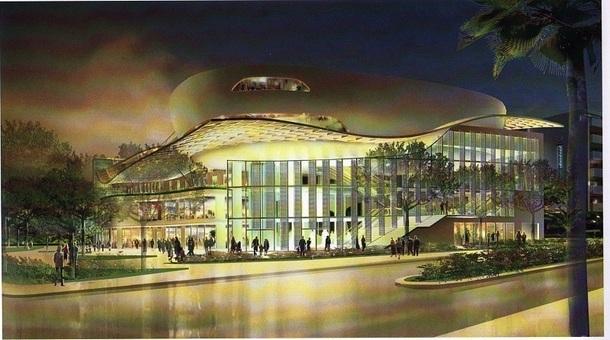 Le futur Palais des Congrès d'Antibes sera-t-il géré par un EPIC ou sous la forme d'une DSP ? Photo DR