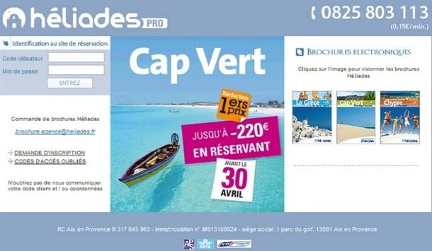 """Le site BtoBo d'Héliades accueille un nouveau module """"à la carte"""" - Capture d'écran"""
