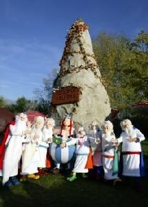 Le Parc Astérix fête les druides