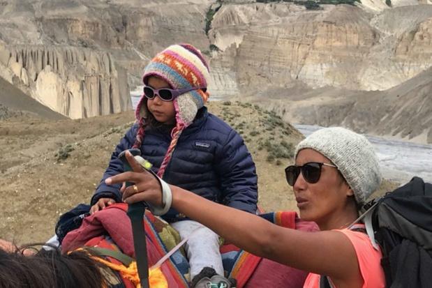 Lhamo et Tenzin entre Naya Dhey et Tangye, au Tibet - DR : Shanti Travel