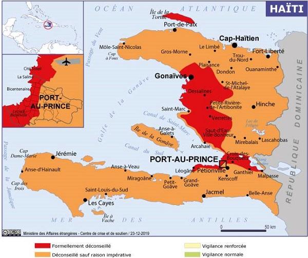 Une flambée de violence et de nombreux enlèvements ont été enregistrés en Haïti - Crédit photo : France Diplomatie