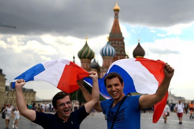 Touristes français sur la place rouge (photo: AFP)