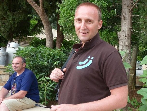 A Chypre, lors de la 4e Convention Twimtravel, Pierre Gravé, commercial francophone du broker belge Sirius Travel Service - Photo DR