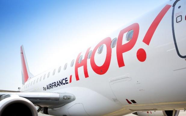 Les pilotes de Hop sont en grève ce lundi 24 et jeudi 27 février 2020 © AF