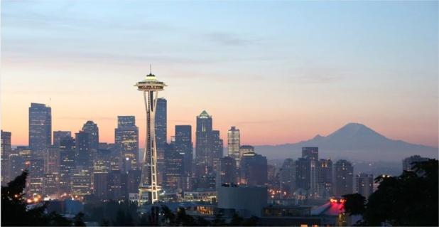 Toits de la ville de Seattle Centre - DR : Pixabay
