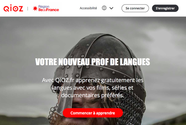 Qioz : l'Île-de-France ouvre son e-learning des langues à l'hôtellerie-restauration