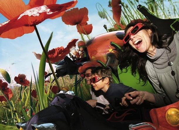 Arthur l'Aventure en 4D est l'attraction préférée des visiteurs. Elle vient d'être récompensée par un prix international, le THEA award. DR -  © Futuroscope - M.Vimenet - 2009EuropaCorp - TF1 Films Productions - Apipoulaï Prod - Avalanche Productions