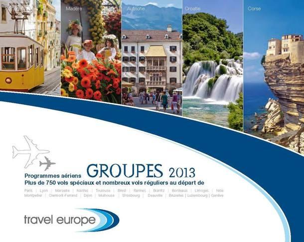 Travel Europe : la brochure 2013 arrive dans les agences de voyages