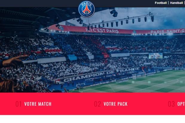 Le PSG propose désormais non seulement la vente de billets mais aussi le transport et l'hôtel - Crédit photo : PSG