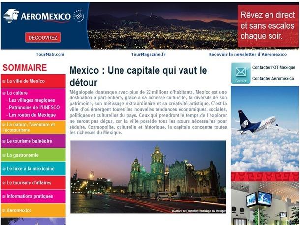 Le dossier destination consacré au Mexique est en ligne sur TourMaG.com - DR