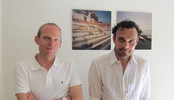 Bruno Bara et Aurélien Bauters, les créateurs de l'agence de voyage sur-mesure les Clés du Monde. DR-LAC
