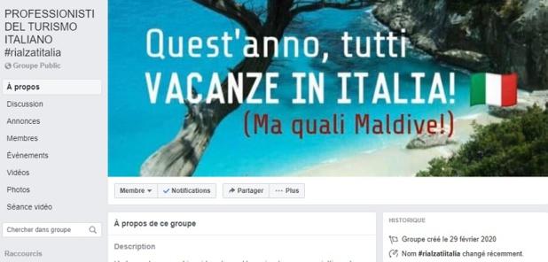 Covid-19 : les pros italiens créent un groupe Facebook pour rassurer les autres pros