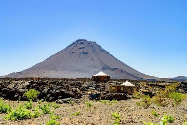 Volcan de l'île de Fogo - DR : Cabo Verde Airlines