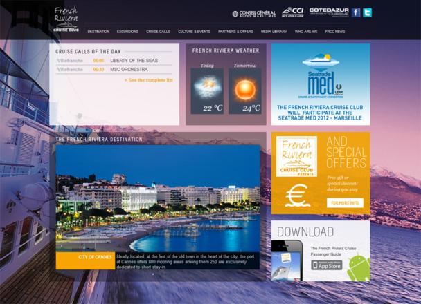 French Riviera Cruise Club : le site web fait peau neuve