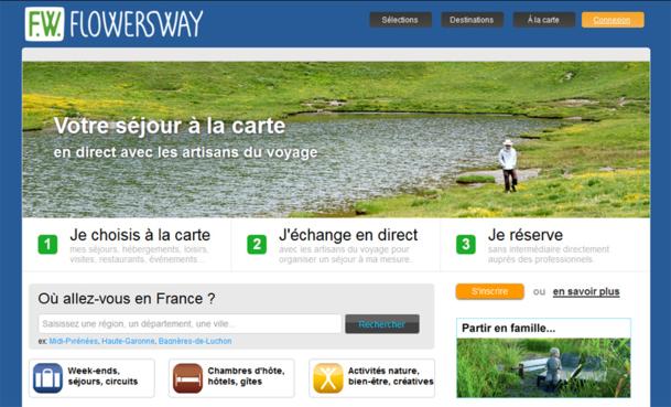 FlowersWay tisse sa toile entre les agents locaux du tourisme