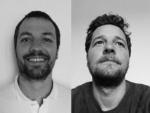 Julien Bousquet et Mathieu Habig ont fondé Flowersway en 2007 - DR