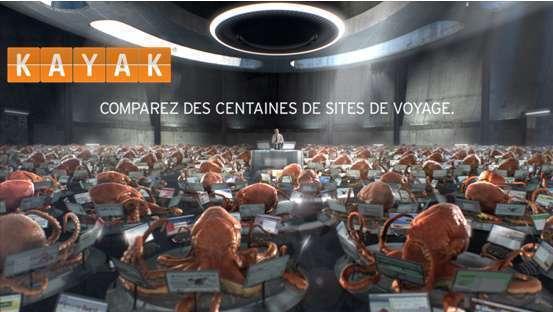 Comparateurs de voyages : Kayak lance une campagne de publicité