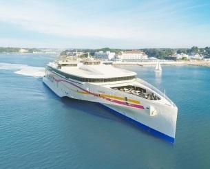 Condor Ferries est une compagnie maritime qui assure un service régulier entre le Royaume-Uni, les îles anglo-Normandes et la France - DR