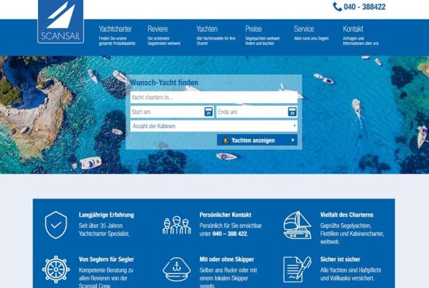 Click&Boat vient d'annoncer le rachat de son concurrent allemand, Scansail - DR