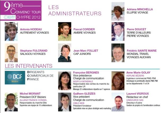 Chypre : ''Prêts à tout pour la relance'', le programme du 9e Convenc'Tour CEDIV