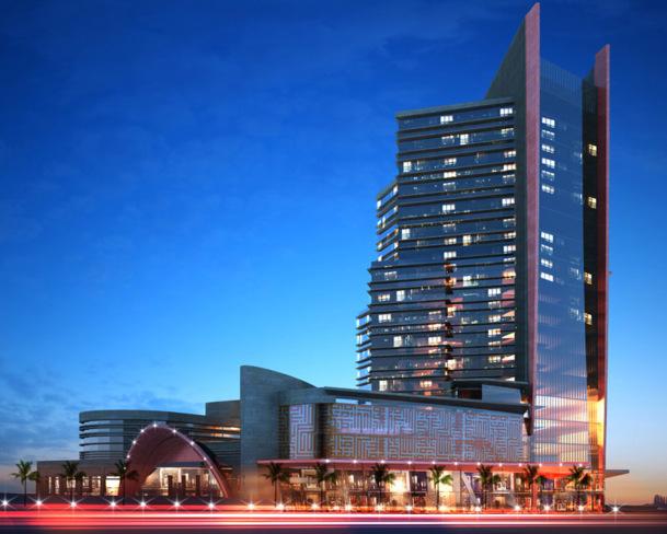 L'établissement comprendra 252 chambres, dont 18 suites - DR