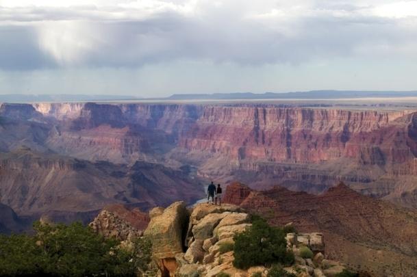 Le Grand Canyon, joyaux du tourisme de la région, accueille 5 millions de visiteurs par an. Difficile pour les autres sites touristiques d'exister à coté. DR