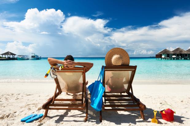 Si vous rêvez de plages de sable blanc et de cocotiers pour les vacances de Pâques, ça risque d'être compromis... /crédit DepositPhoto