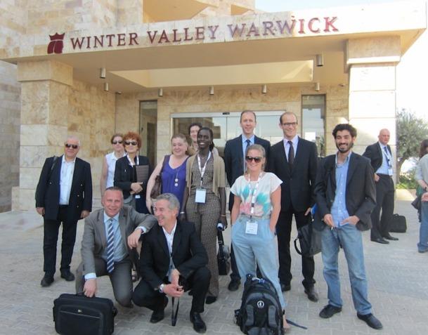 La Jordanie avait invité des professionnels français pour assister à une conférence internationale sur le tourisme organisée au centre de convention King Hussein bin Talal.  Logés au tout nouvel hôtel Winter Valley Warwick, ils ont pu profiter d'une superbe vue sur la Mer Morte et découvrir la cité perdue de Pétra.DR - LAC