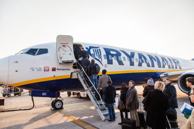 Ryanair annule les vols au départ de l'Espagne