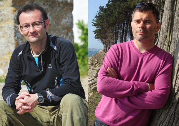Mikaël Kerlidou et Loïc Mathieu ont créé Terra Mundi - le Slow Voyage en septembre 2010 - DR