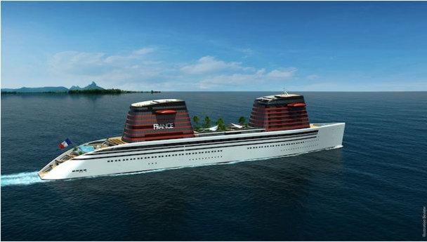 L'objectif est de lancer en 2013, la construction du paquebot sur les chantiers navals STX de Saint-Nazaire