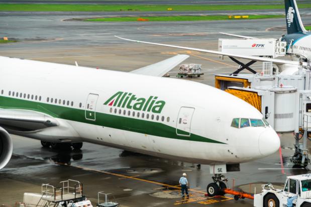 Alitalia met en place plus de fréquences depuis Londres, Paris et Bruxelles /crédit DepositPhoto