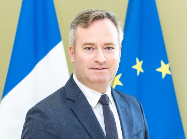 Jean-Baptiste Lemoyne a donné les grandes lignes de l'ordonnance sur l'à-valoir lors d'une conférence de presse téléphonique à l'issue de la réunion hebdomadaire du comité de filière tourisme - Photo MEAE