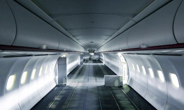 La capacité globale a maintenant triplé, passant à 120 mètres cubes pour l'A320 et à 170 mètres cubes pour l'A321. /crédit photo Aegean