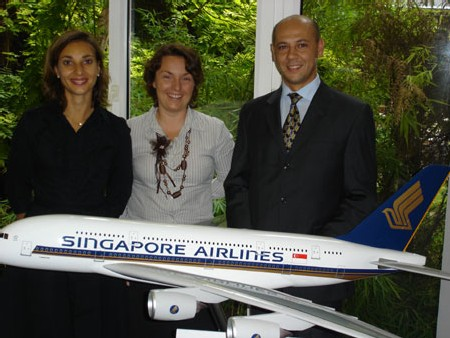 Singapore Airlines : nouvelle organisation commerciale en France