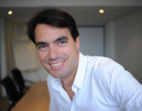 """Geoffroy de Becdelièvre : """"Les aspects importants pour moi sont la réactivité et l'expertise nécessaire pour pouvoir répondre aux besoins des clients."""" Photo DR"""