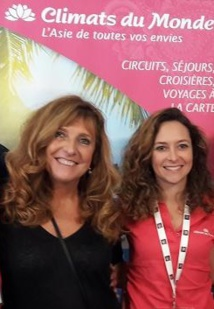 Christine Crispin et Olivia Calvin - DR