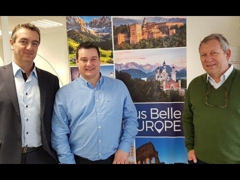 L'équipe de Plus Belle l'Europe - DR