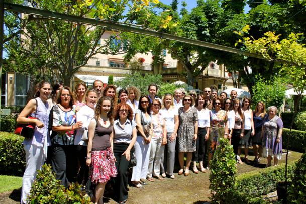 séminaire annuel du groupe Eurafrique qui se tenait dans le cadre enchanteur de l'hôtel Pigeonnet à Aix-en-Provence - Photo DR