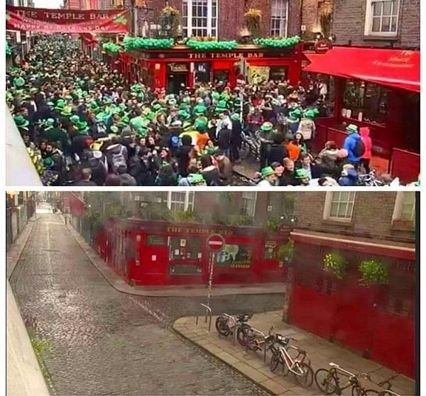 Si la Saint-Patrick n'a pas eu lieu, les Irlandais espèrent pouvoir refaire la fête avec les Français dès cet été - Crédit photo : compte Facebook @Guide Irlande