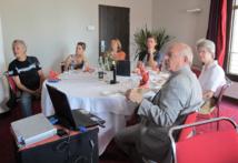 Six agents marseillais ont participé à la présentation - DR : A.B.