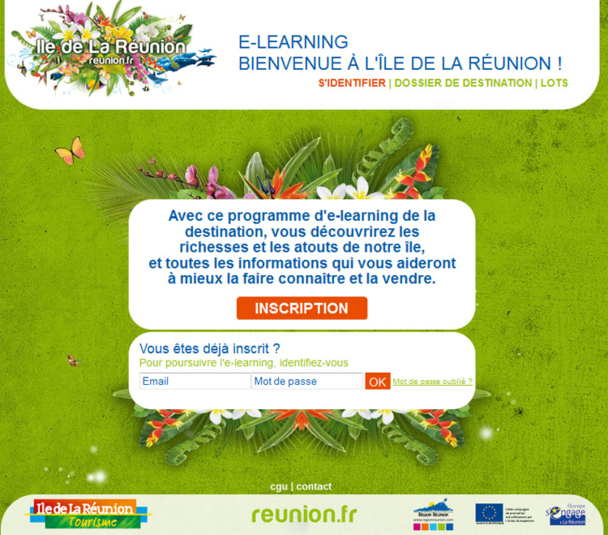 l'e-learning lancé par le CRT de la Réunion - Photo DR
