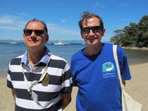 Jean-Pierre Lorente, DG de Bleu Voyages et François Lorente, président-fondateur - DR : A.B.