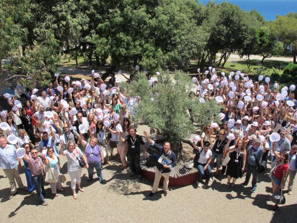 230 collaborateurs et partenaires étaient présents lors de la 10e convention de juin 2012 - DR : A.B.