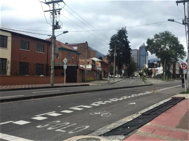 A Bogotá, la vie est à l'arrêt, mais dans de nombreuses villes, le confinement n'est pas suivi par la population face à l'urgence de vivre et gagner de l'argent - DR : Julien Rouyrre