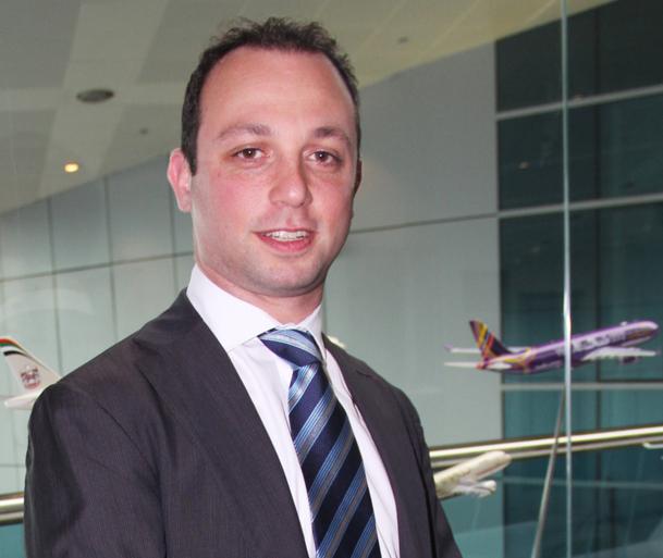 Robert Chad est Franco-Libanais de 38 ans, diplômé de l'Université Paris-La Sorbonne. Il prendra ses fonctions en août 2012 - Photo DR