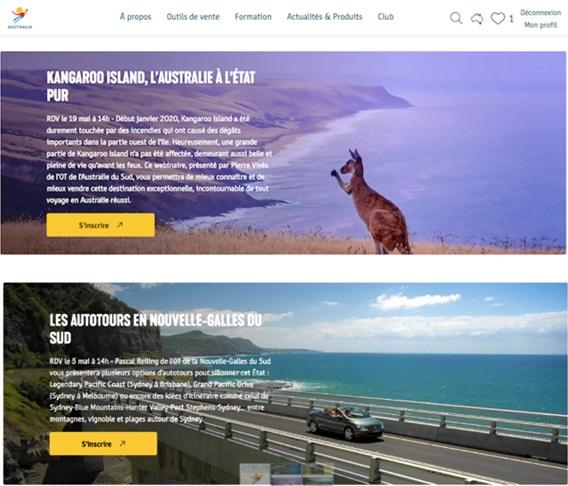 7 sessions de webinars seront proposées aux professionnels du tourisme - DR