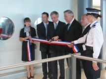 Le dispositif PARAFE a été inauguré vendredi 29 juin 2012 à l'aéroport Marseille Provence - Photo PC