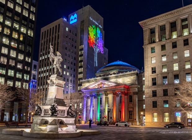 A Montreal l'optimisme est de mise, les cas sont nombreux, mais personne ne doute que la ville sortir vainqueur de cette crise sanitaire - Crédit photo : compte Facebook Visitez Montréal